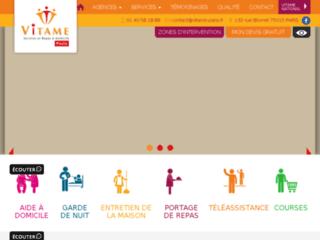 Aide à domicile sur http://www.vitame-paris.fr