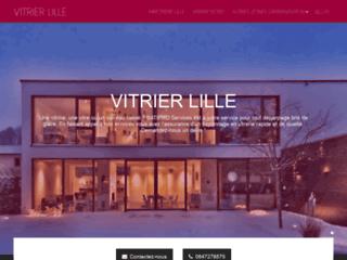 Détails : Vitrier Lille : une miroiterie vitrerie situé sur la métropole lilloise