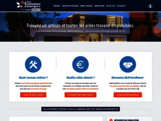 Capture du site http://www.voseconomiesdenergie.fr