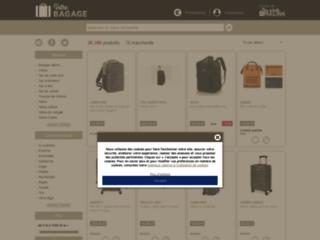 Comparer le prix des bagages