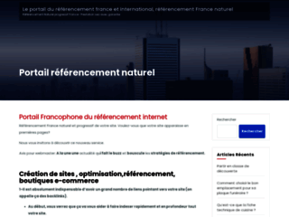 portail internationnal de référencement naturel