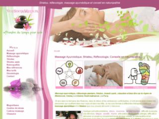 Massage ayurvédique et Shiatsu pour le bien-être sur http://www.vousentirmieux.fr