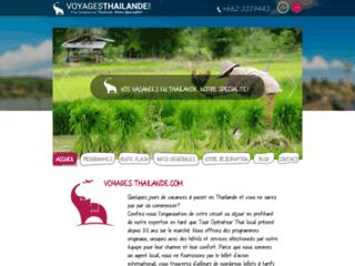 Voyages Thaïlande spécialiste des séjours en Thaïlande