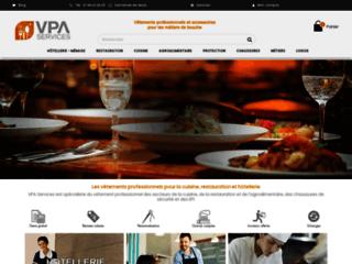VPA Services - vente vetement professionnel