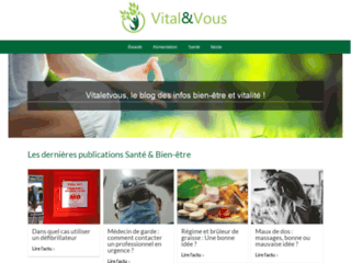 Détails : Vu Bien Vu : pour des informations sur la santé et le bien-être