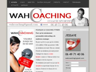 Wahcoaching - coach minceur et fitness