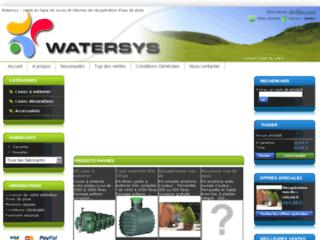 Détails : Watersys