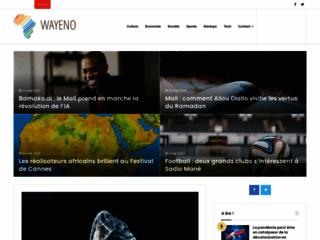 Wayeno, toute l'actualité d'afrique et d'ailleurs
