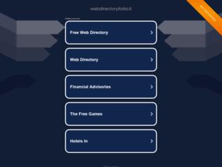 Web Directory Italia - La web directory italiana