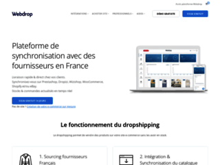 Site E-commerce dropshipping