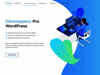 Mat Webmaster Wordpress