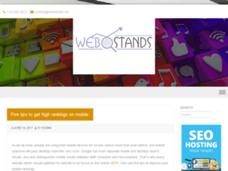 Web stands