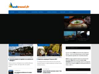 Webtravel - Guide de voyage à travers le monde