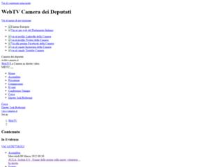 Info: Scheda e opinioni degli utenti : Camera dei Deputati Parlamento Italiano WebTV