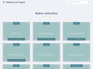 Agence Week-end-prague.fr. Week-end romantique pas cher