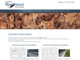 Détails : Gouttière West Island