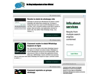 Détails : Actualité Whatsapp gratuit
