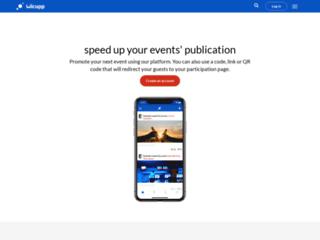 Wicupp - Pour organiser vos événements