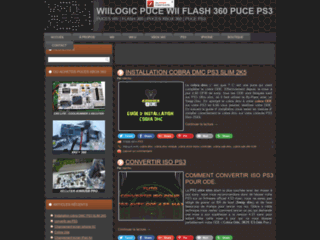 Wiilogic : Puce wii, flash 360 et linker DS