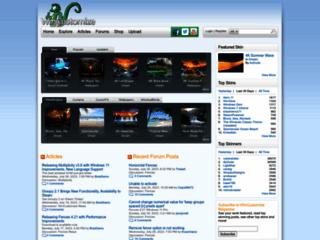 WinCustomize.com -  Tutto il necessario per personalizzare il tuo pc.