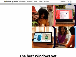 Info: Scheda e opinioni degli utenti : Area Assistenza e Download di Microsoft Windows (Sito Ufficiale)