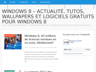Windows 8 SOS