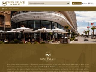 Détails : Vente de vin en ligne