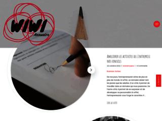 WiWiANNUAIRE : Annuaire sélectif du web francophone