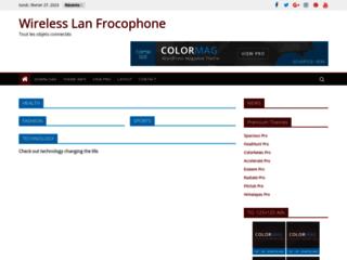 Image Wireless lan francophone