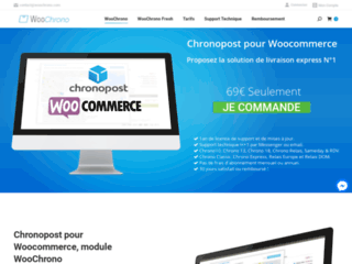 WooChrono module Chronopost pour Woocommerce