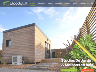 Détails : Studios de jardin en ossature bois