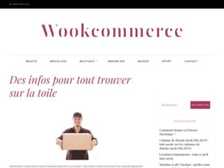 Capture du site http://www.wookommerce.com