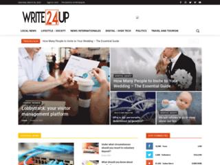 Détails : Write Up 24, votre blog