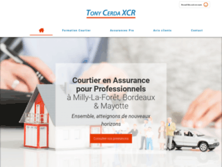 Tony Cerda XCR - courtier en assurances et formation