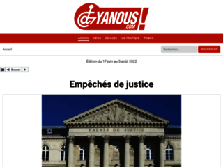Capture du site http://www.yanous.com