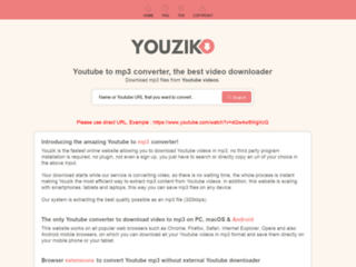 Télécharger et convertir Youtube MP3