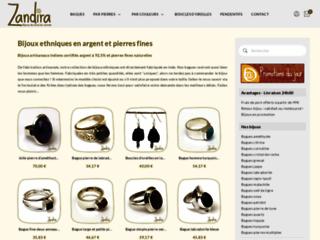 Aperçu du site Zandira