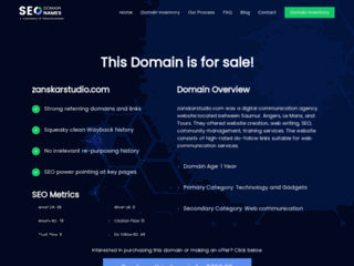 Zanskar Studio, cr�ation de sites web � Angers