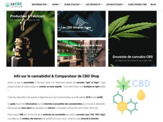ZeCBD, plateforme des meilleures shops de vente de CBD