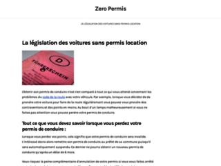 Zero permis