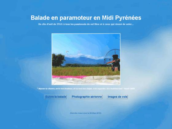 Photo image Balade en paramoteur en Midi-Pyrénées