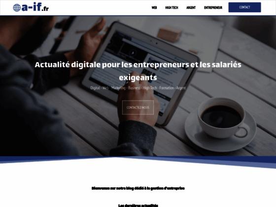 Détails : ABSCISSE-IF: création de sites internet