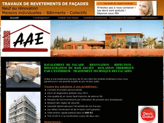 Détails : Rénovation de façades Var - Entreprise AAE