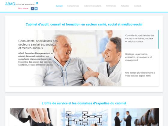 Détails : Consultants spécialistes du secteur sanitaire et social