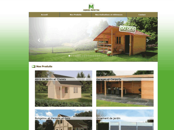 Abri jardin bois