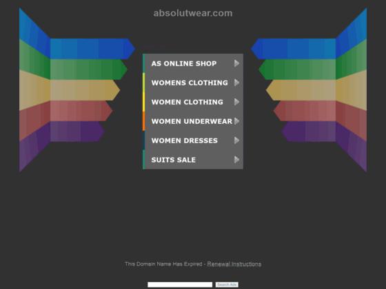Détails : http://www.absolutwear.com