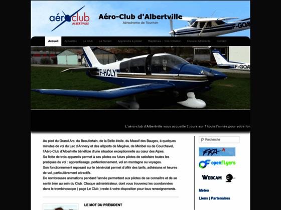 Photo image Aeroclub d'Albertville