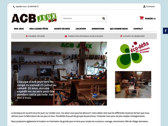 Détails : Boutique ACB Jeux en bois