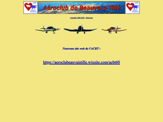 Photo image ACBT60, aéroclub de beauvais tillé