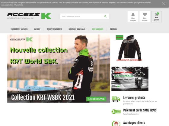Détails : Boutique en ligne d'accessoires moto Kawasaki